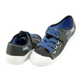 Befado kinderschoenen 251X129 blauw grijs 4