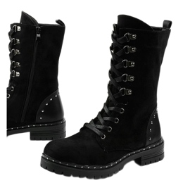 Zwarte laarzen, laarzen en laarzen van Isoris 1