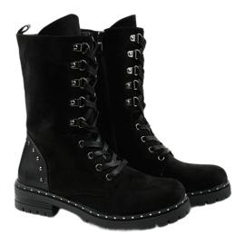 Zwarte laarzen, laarzen en laarzen van Isoris 3