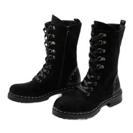 Zwarte laarzen, laarzen en laarzen van Isoris 2