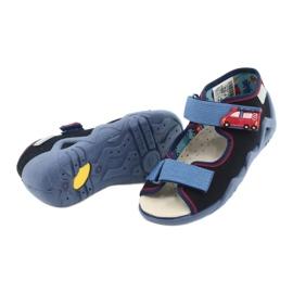 Befado gele kinderschoenen 350P014 rood marineblauw blauw 4