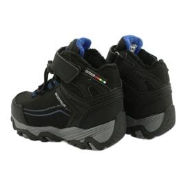 Softshell-laarzen met American Club-membraan zwart blauw 4