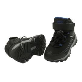 Softshell-laarzen met American Club-membraan zwart blauw 3