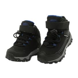 Softshell-laarzen met American Club-membraan zwart blauw 2