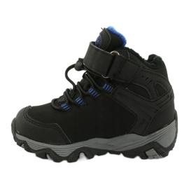 Softshell-laarzen met American Club-membraan zwart blauw 1