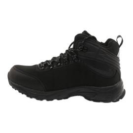 American Club Amerikaanse trekking Softshell-laarzen met een membraan zwart 1