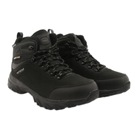 American Club Amerikaanse trekking Softshell-laarzen met een membraan zwart 4