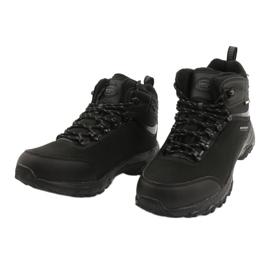 American Club Amerikaanse trekking Softshell-laarzen met een membraan zwart 2