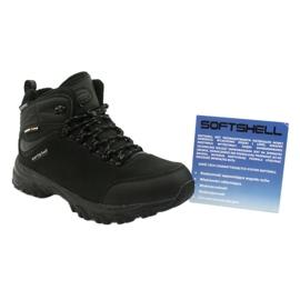 American Club Amerikaanse trekking Softshell-laarzen met een membraan zwart 5