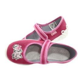Befado kinderschoenen 114X174 roze zilver 5