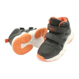 Befado kinderschoenen 516X050 oranje grijs 4