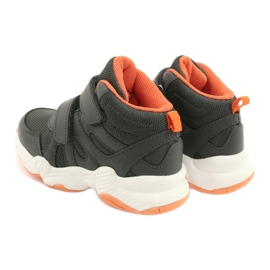 Befado kinderschoenen 516X050 oranje grijs 5