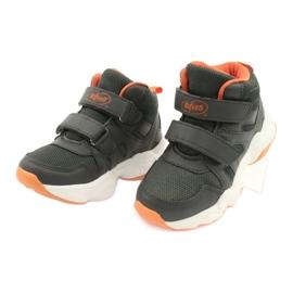 Befado kinderschoenen 516X050 oranje grijs 3