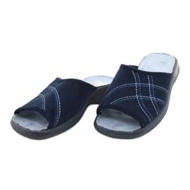 Befado damesschoenen pu 442D147 blauw 3