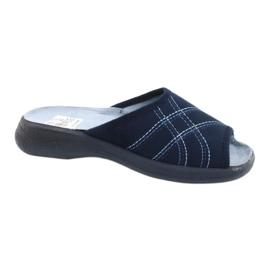 Befado damesschoenen pu 442D147 blauw 1