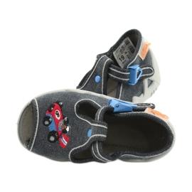 Befado kinderschoenen 217P106 blauw grijs 5