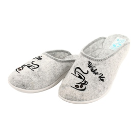 Vilten pantoffels Wake Up Adanex 25642 Grijs 3