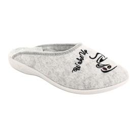 Vilten pantoffels Wake Up Adanex 25642 Grijs 2
