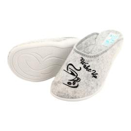 Vilten pantoffels Wake Up Adanex 25642 Grijs 4