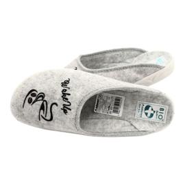Vilten pantoffels Wake Up Adanex 25642 Grijs 5