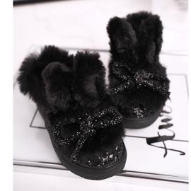 FRROCK Zwarte Mumi Warm-sneakers voor kinderen 4
