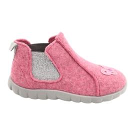 Befado kinderschoenen 546P024 roze zilver 1