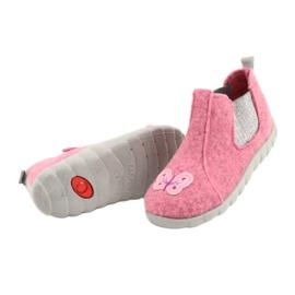 Befado kinderschoenen 546P024 roze zilver 4