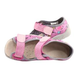 Befado kinderschoenen 869X136 roze veelkleurig 5