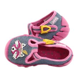 Befado kinderschoenen 110P395 roze grijs 5