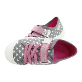 Befado kinderschoenen 251X159 roze grijs 5
