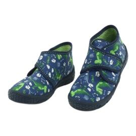 Befado kinderschoenen 538P037 blauw groente 3