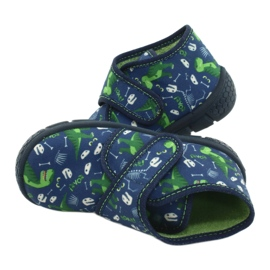 Befado kinderschoenen 538P037 blauw groente 5