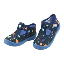 Befado kinderschoenen 533P011 marineblauw 3