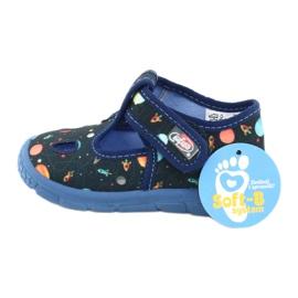 Befado kinderschoenen 533P011 marineblauw blauw veelkleurig 6