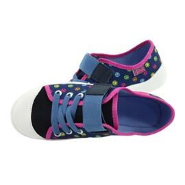 Befado kinderschoenen 251Y162 blauw roze veelkleurig 5