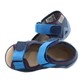 Befado gele kinderschoenen 350P015 marineblauw blauw 4