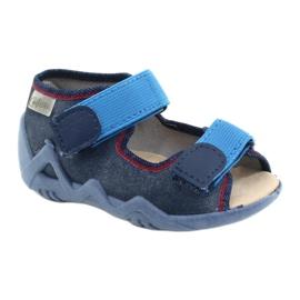 Befado gele kinderschoenen 350P015 marineblauw blauw 1
