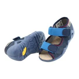 Befado gele kinderschoenen 350P015 marineblauw blauw 3