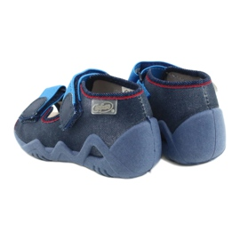 Befado gele kinderschoenen 350P015 marineblauw blauw 5