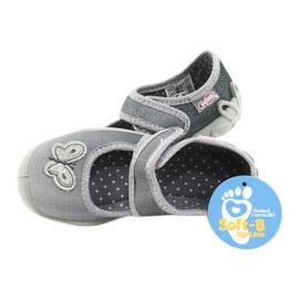 Befado kinderschoenen 123X034 zilver grijs 5
