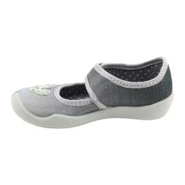 Befado kinderschoenen 123X034 zilver grijs 2