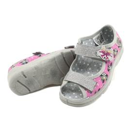 Befado kinderschoenen 969X162 roze zilver 4