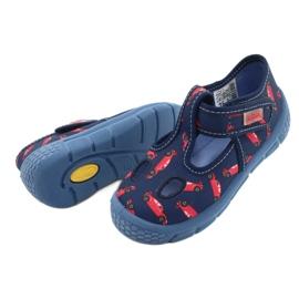 Befado kinderschoenen 533P012 rood marineblauw blauw 4