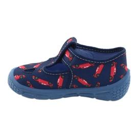 Befado kinderschoenen 533P012 rood marineblauw blauw 2