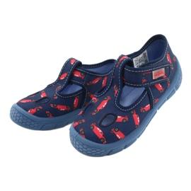 Befado kinderschoenen 533P012 rood marineblauw blauw 3