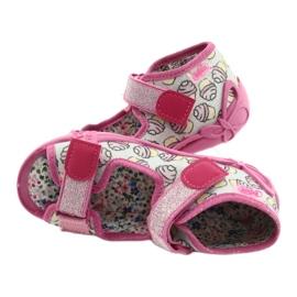 Befado kinderschoenen 242P099 roze grijs veelkleurig 5