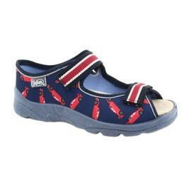 Befado kinderschoenen 869X149 rood marineblauw 1