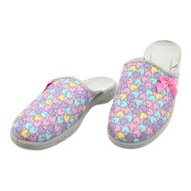 Befado gekleurde kinderschoenen 707Y410 paars blauw roze veelkleurig 3