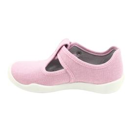 Befado kinderschoenen blanka roze 115X002 zilver 3