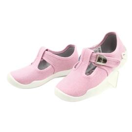 Befado kinderschoenen blanka roze 115X002 zilver 4